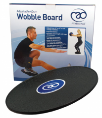 Fitness Mad 40CM Adjustable Wobble Board