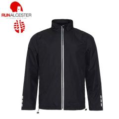 Run Alcester Black Cool Running Jacket