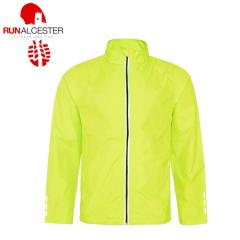 Run Alcester Fluo Cool Running Jacket