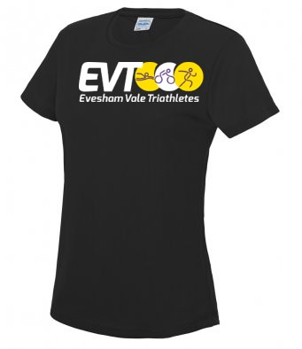 Evesham Vale Triathetes Ladies Cool Tshirt