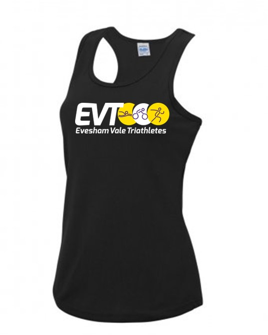 Evesham Vale Triathletes Ladies Cool Vest