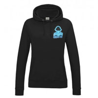 Evesham Vale Running Club Ladies Fit Hoodie