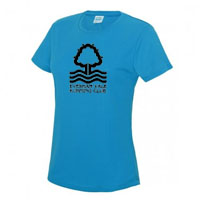 Evesham Vale Running Club Ladies Cool Tshirt
