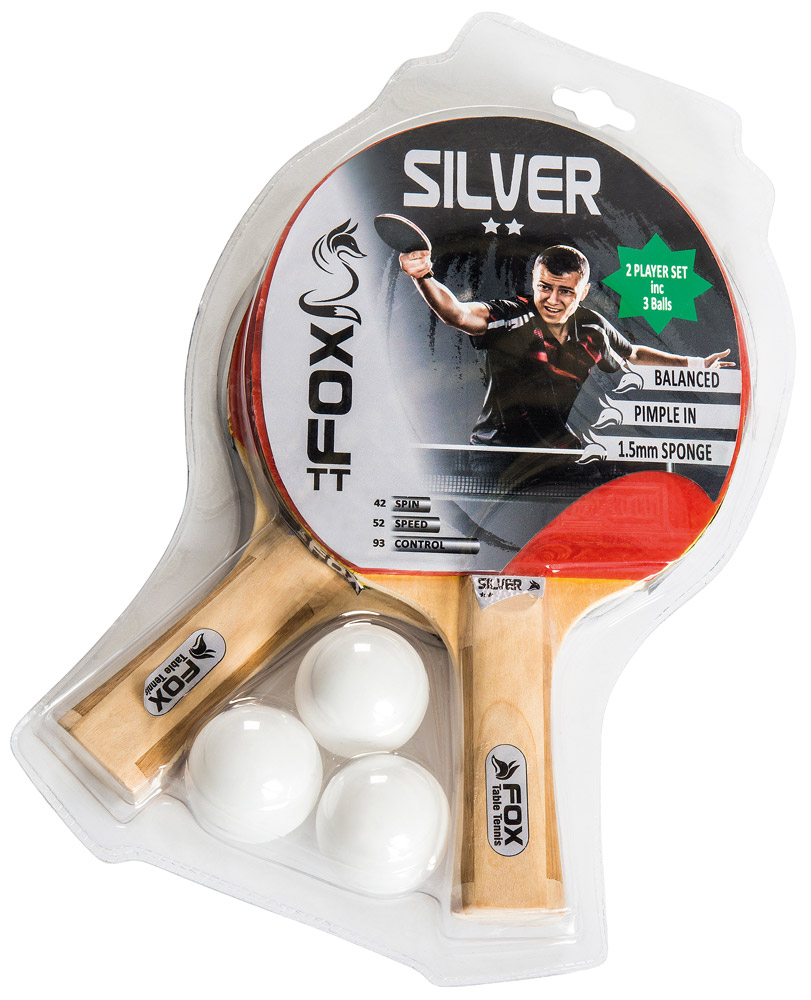 Fox TT Silver 2 Player Set