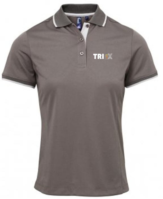 Ladies Tri - X Polo Shirt