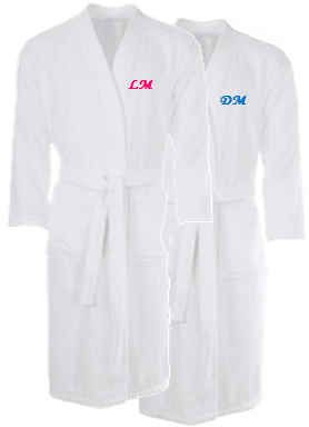 Luxury Personalised bath robe