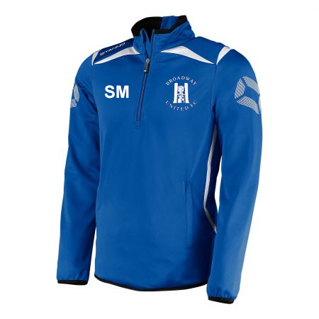 JNR - Broadway United FC 1/2 Zip Training Top